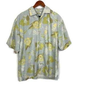 Tommy Bahama Silk Tropical Drinks Hawaiian Shirt L